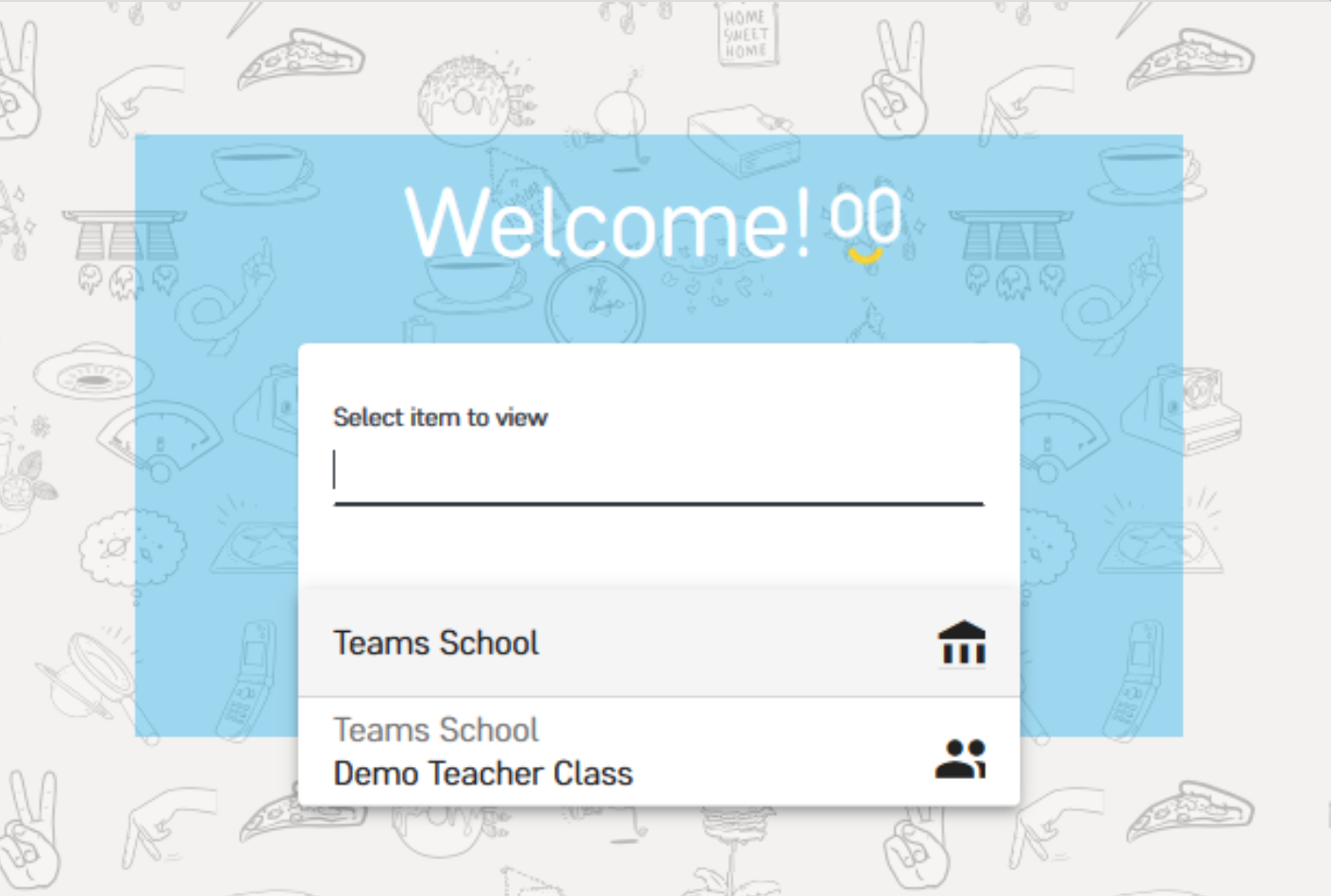 Step one when Adding Students to School Day on Microsoft Teams