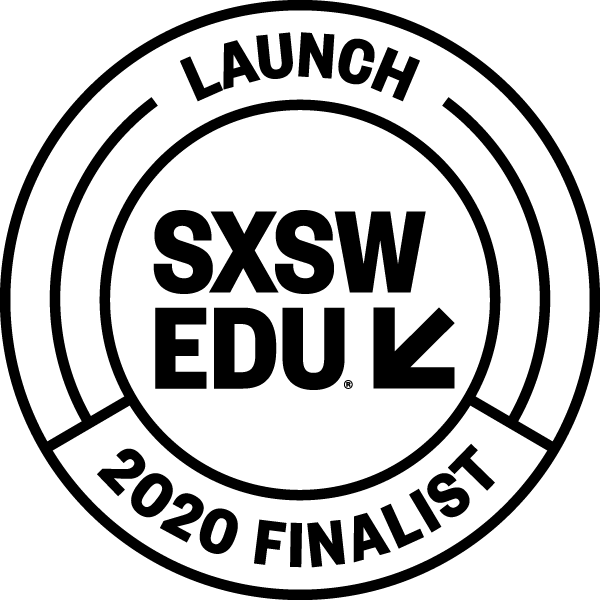 South by Southwest Finalist 2020 Logo