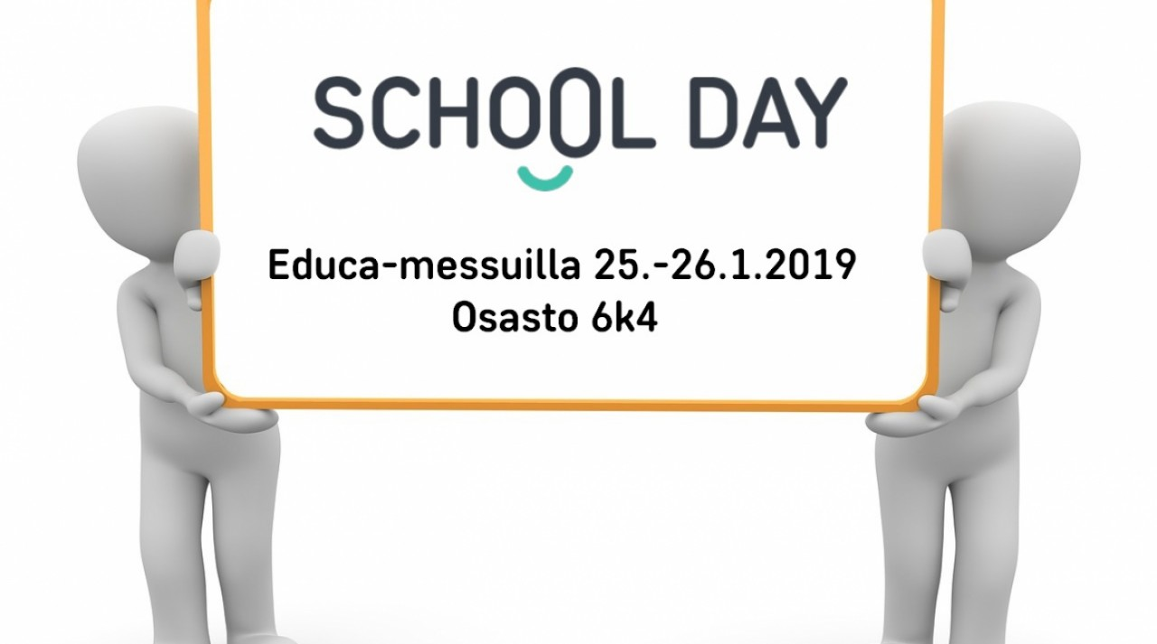 School Day mukana Educa-messuilla 25.-26.1.2019